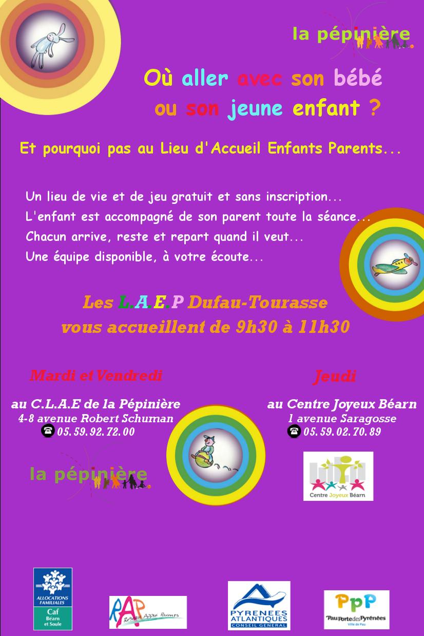 Affiche Flyer LAEP
