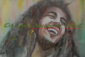 Anne Coquéau- Velut - Bob Marley